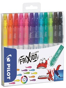 Fiberpenna Pilot Frixion Color 12-pack