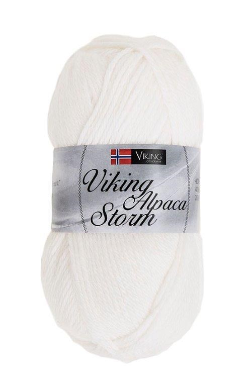 Viking of Norway Alpaca Storm 50 gr Hvit 500