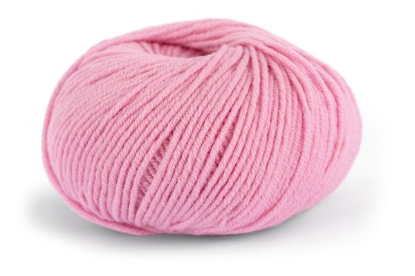 Knit At Home Superfine Merino Wool Lanka Villalangat 50 g roosa 311