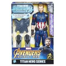 Captain America, 30 cm, Power Pack, Titan Hero, Avengers
