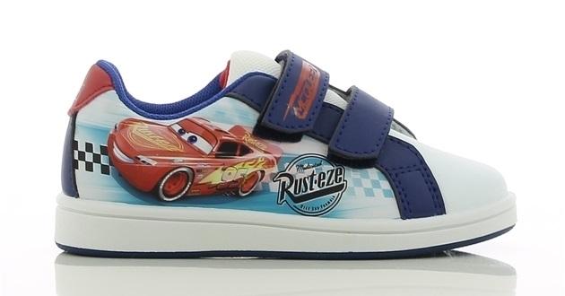 Sneakers i skatestil, RödVitBlå, strl 28, Disney Cars