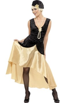 20-talls Gatsby-kostyme, Dame