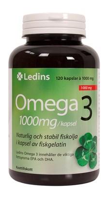 Ledins Omega 3, 120 kapslar