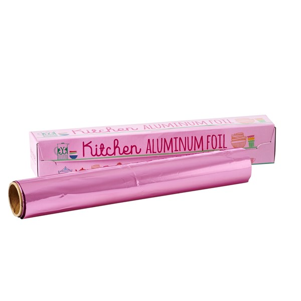 Rice Aluminiumfolie Rosa 10 m
