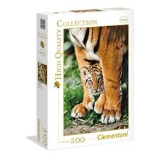 Bengal Tiger Cub Puslespill 500 biter Clementoni