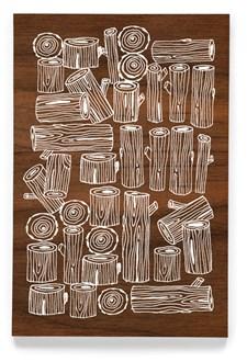 Logs -muistikirja, 4x6´