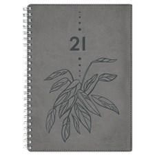 Kalenteri 2021 Business A5 Style Vihreä Burde
