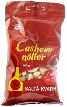 Saltå Kvarn Cashewnötter 100 g