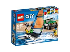 Terrengbil med katamaran, LEGO City Great Vehicles (60149)