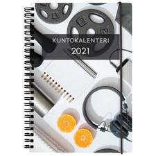 Kalenteri 2021 Kuntokalenteri A5 Burde