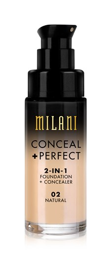 Milani Conceal & Perfect Liquid Foundation - Natural