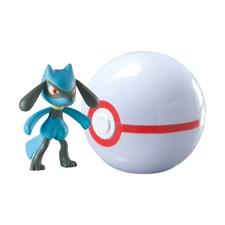 Clip 'n' Carry Ball, Riolu + Premier Ball, Pokémon