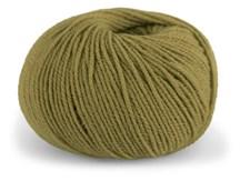 Dale Garn Pure Eco Wool Ekologisk Ull Alpacka 50 g Oliv 1232