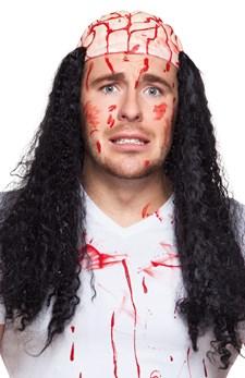 Peruukki Veriset Aivot Halloween