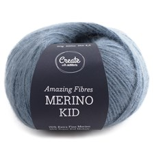 Adlibris, Merino Kid, 50 g, Steel Blue A505
