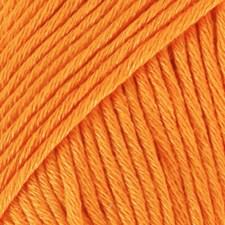 Muskat Bomullsgarn 50 g Ljus Orange (51) Drops