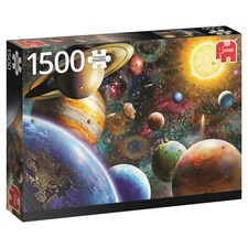 Planets in space, Pussel 1500 bitar