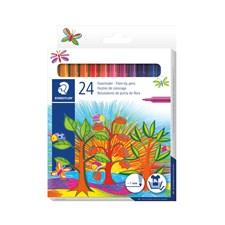 Noris Club® 24-pk barnetusjer for fargelegging, i pappeske