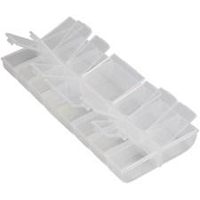 Förvaringslådor av Plast 24x11x2,8 cm 1 st
