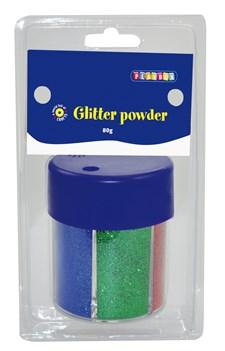 Glitterströssel Mix Playbox 80g 6 färger