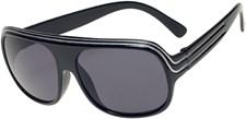 Solglasögon 5-8 år, Svart/Vit, Haga Eyewear