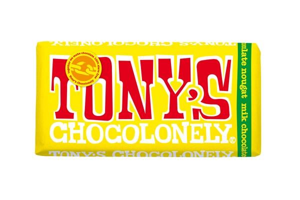 Tony´s Choklad Milk Chocolate Nougat 180 g