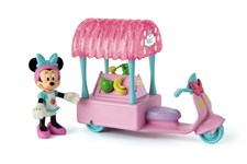 Minifigurset med smoothievagn, Mimmi Pigg, Disney Junior - Minnie