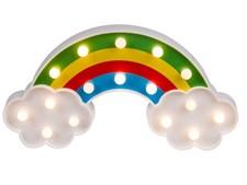Regnbågslampa LED