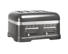 KitchenAid Artisan Toaster 4 Skivor Medallion Silver