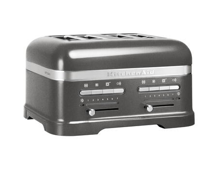 KitchenAid Artisan Toaster 4 Skivor Medallion silver (grå)
