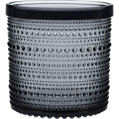 Iittala Kastehelmi Burk 11 6 x 11 4 cm Grå - köksförvaring