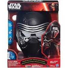 Kylo Ren, Elektronisk maske med stemmeforvrenger, Star Wars VII