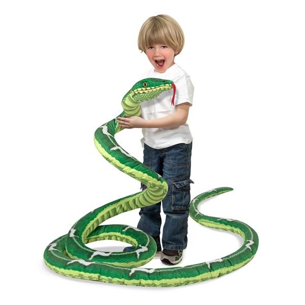 Snake - Plush  Melissa & Doug - gosedjur