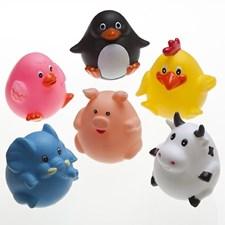Wobbly Animals badeleketøy, 6 deler, Rätt Start