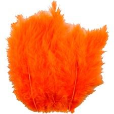 Dun, str. 5-12 cm, 15 stk., orange