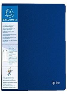 Demobok EXACOMPTA 40 lommer blå