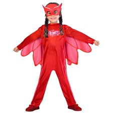 Maskeraddräkt Ugglis, 5-6 år, Pyjamashjältarna