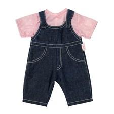 Lillans jeans og T-skjorte