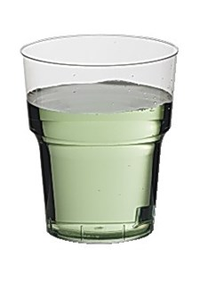 Plastglas Hårda 38 cl 25 st