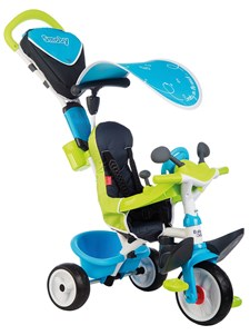 Trehjuling Baby Driver Comfort, Blå, Smoby