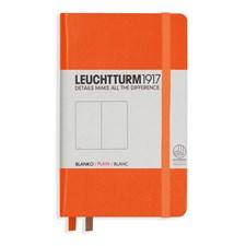 Anteckningsbok Leuchtturm1917 A6 Hard orange 185 p. plain