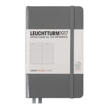 LT NOTEBOOK A6 Hard anthracite 185 p. ruled