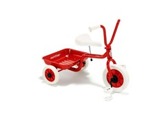 Klassisk trehjulssykkel, Rød, Winther