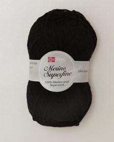 Viking of Norway Merino Superfine 50 gr musta