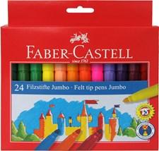 Tuschpennor Jumbo Faber-Castell 24-pack