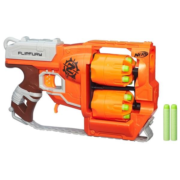 Zombie Strike FlipFury blaster  NERF  Nerf - uteleksaker & sportleksaker