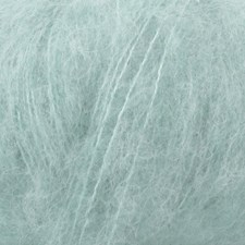 Brushed Alpaca Silk Drops design 25 g light sea green 15