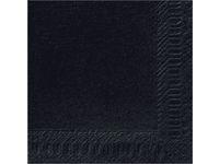 Lautasliina 3-kerroksinen 40x40 cm musta (125 kpl)