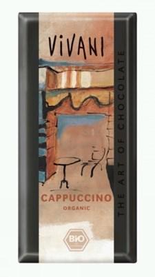 Vivani Choklad Cappuchino 100 g Ekologisk