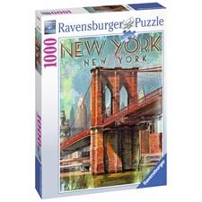 Retro New York, 1000 bitar, Ravensburger
